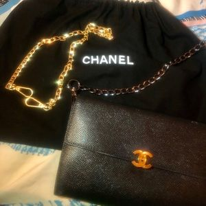 CHANEL Authentic Wallet, Purse, and Crossbody Bag